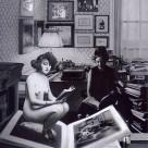 Anais Nin, fotomontaggio Edoardo de Falchi