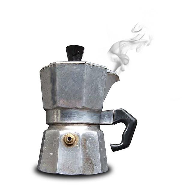 caffettiera del masochista, cc di Pietro Bellini