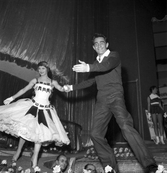 Walter Chiari e Delia Scala, foto Enpals