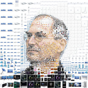 Steve Jobs cc Charis Tsevis