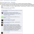 il commento cancellato da Red Ronnie su Facebook
