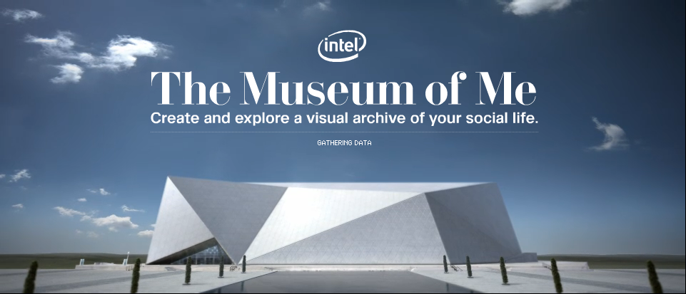 the museum of me, intel