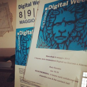 Ca' Foscari Digital Week-1